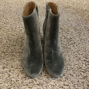 Franco Sarto Jubilee Grey Ankle Boots